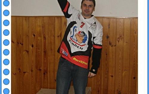Vítěz Grand Prix a Mistr ČSSH Josef Gába (KSH Sever Zábřeh)