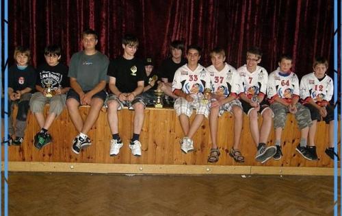 Všichni účastníci Junior Trophy